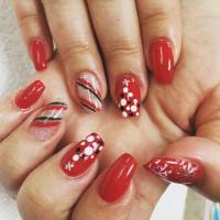 30+ Candy Cane Nail Art Designs, Ideas