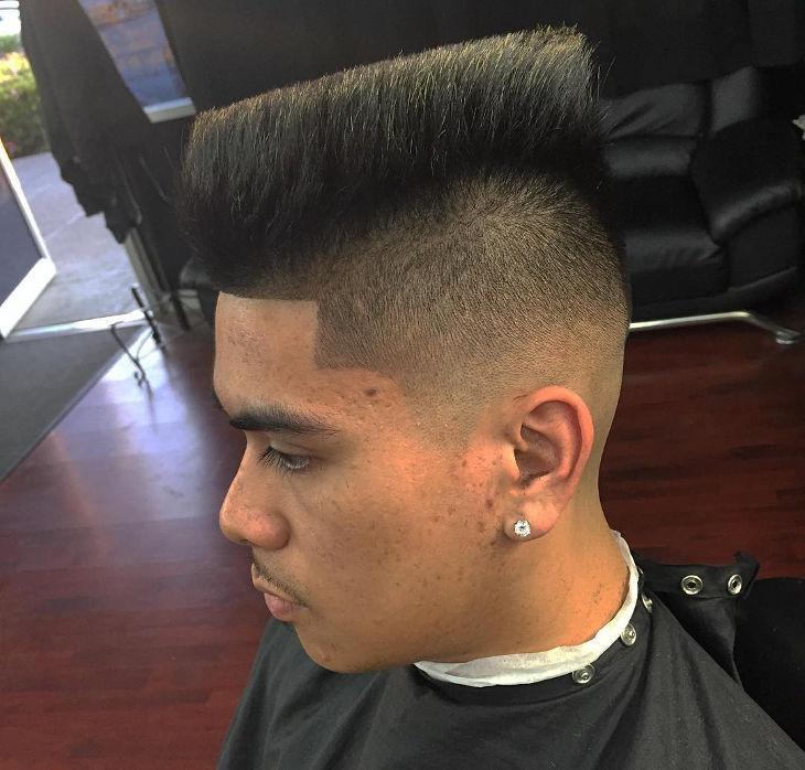 26 High Top Fade Haircut Designs Ideas  Hairstyles  Design Trends  Premium PSD Vector