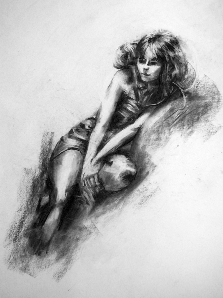 19 Beautiful Collection of Charcoal Drawings Art Ideas