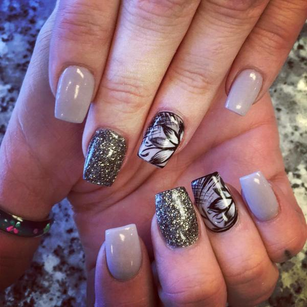 Flower Nail Art Design Trends