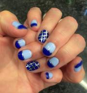 stripe nail art design ideas