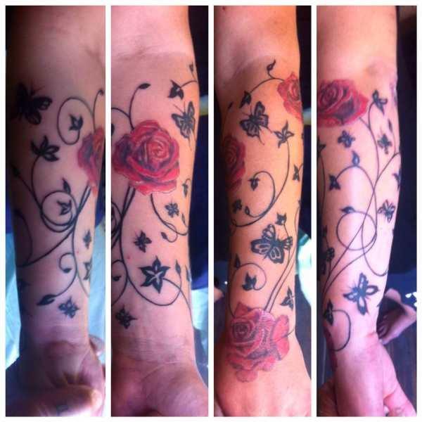 forearm sleeve tattoo design