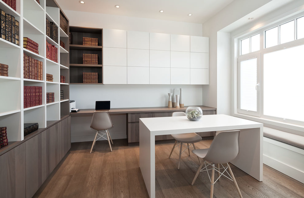 22 Scandinavian Home Office Designs Decorating Ideas  Design Trends  Premium PSD Vector