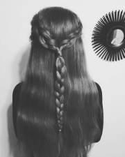 long hair haircut design