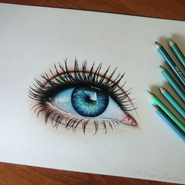Collection Of Pencil Drawing Eye Drawings Art