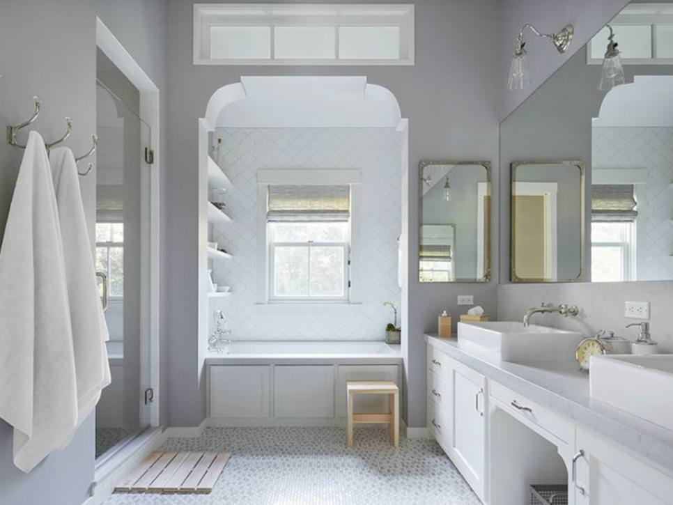 19+ Farmhouse Style Bathroom Designs, Decorating Ideas