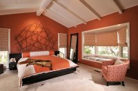 24+ Orange Bedroom Designs, Decorating Ideas | Design ...