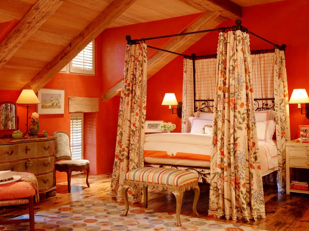 24+ Orange Bedroom Designs, Decorating Ideas