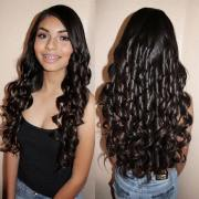long curly haircuts ideas