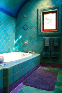 18+ Turquoise Bathroom Designs, Decorating Ideas