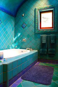 18+ Turquoise Bathroom Designs, Decorating Ideas   Design ...