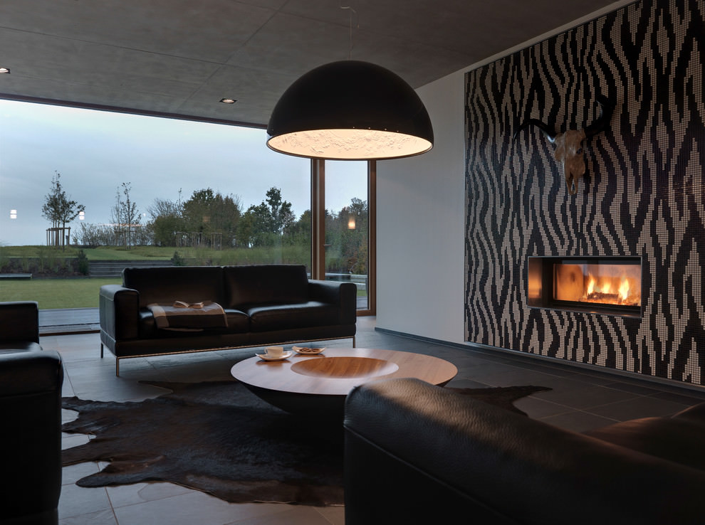modern black living room interior decor ideas 21 designs decorating design trends