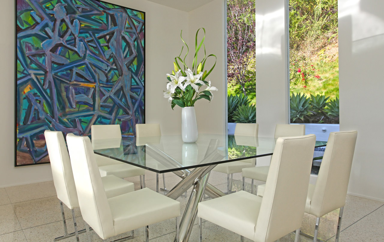 square pedestal kitchen table refrigerators for small kitchens 18+ glass top dining tables designs, ideas, plans ...