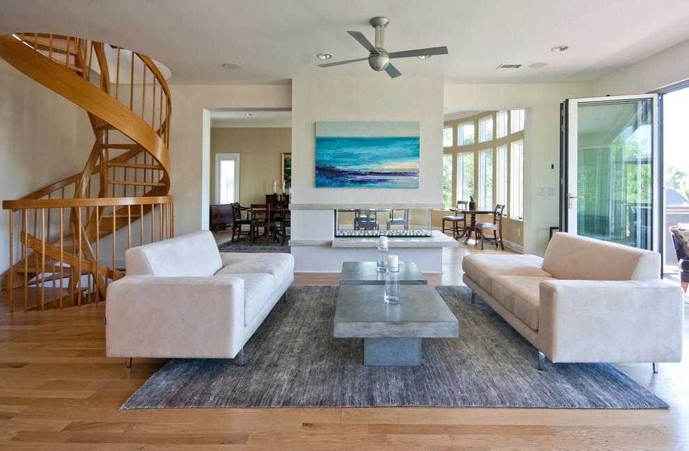 Modern Beach Themed Living Room Nakicphotography
