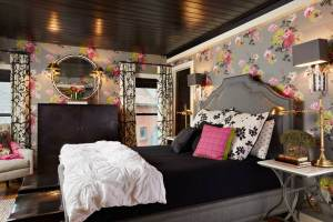 bedroom girly floral teen decorating