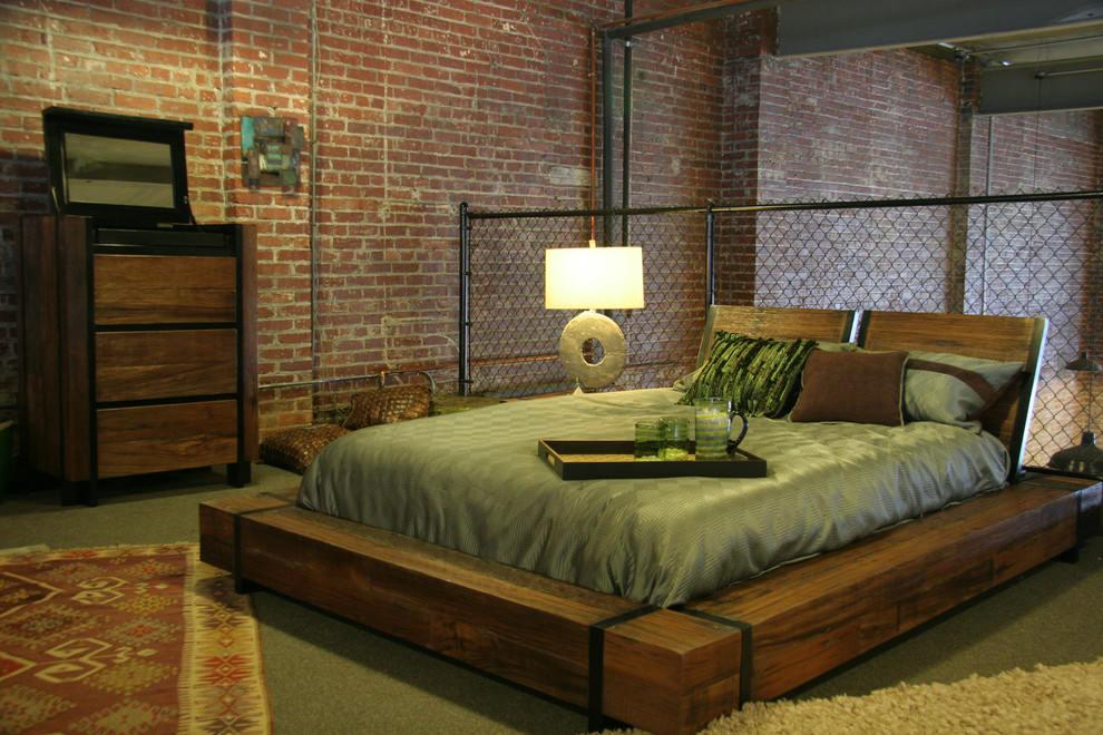20 Industrial Bedroom Designs Decorating Ideas  Design