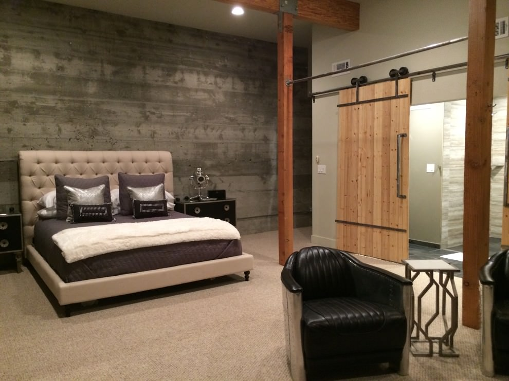20 Industrial Bedroom Designs Decorating Ideas  Design Trends  Premium PSD Vector Downloads