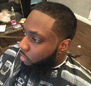 black men taper haircut ideas