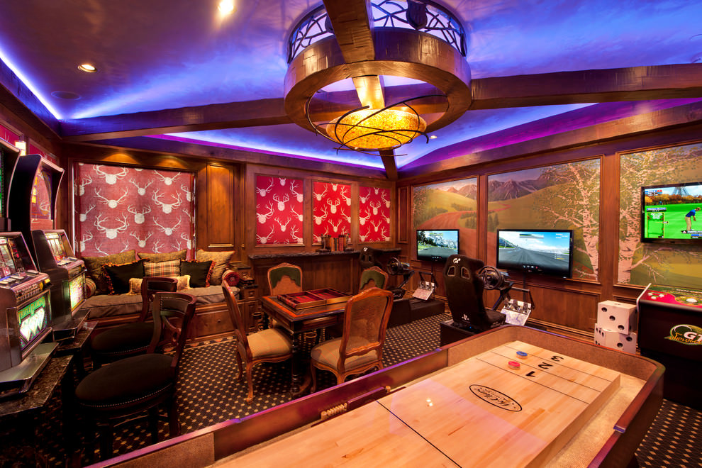 Are you looking for some amazing game room ideas? 23+ Game Room Designs, Decorating Ideas   Design Trends ...