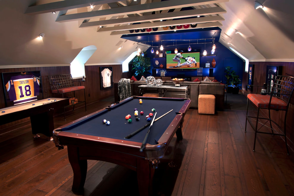 Your family room should be a space where everyone can kick back and relax. 23+ Game Room Designs, Decorating Ideas | Design Trends