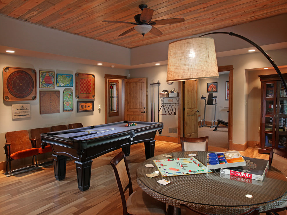 Some games are timeless for a reason. 23+ Game Room Designs, Decorating Ideas   Design Trends ...