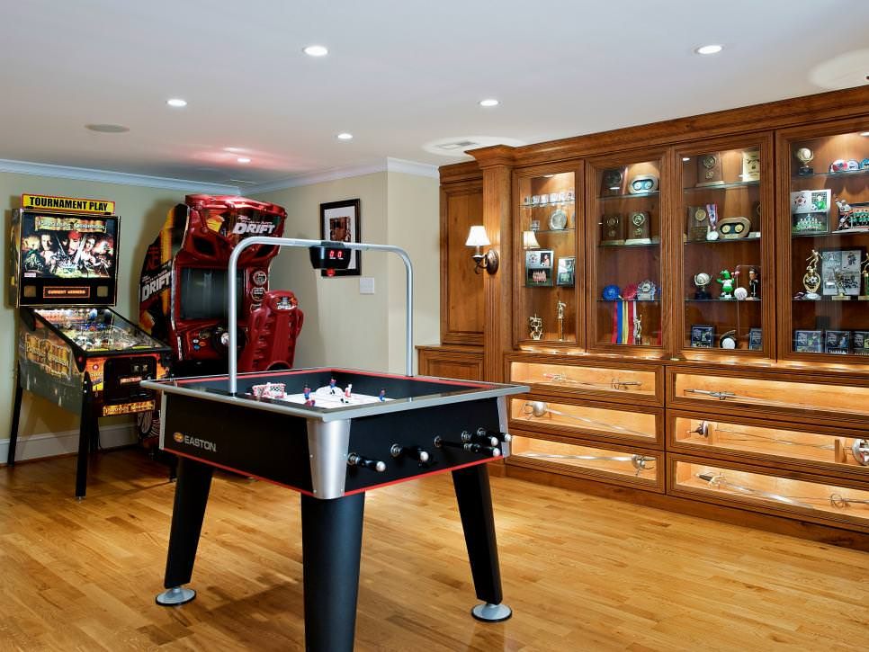 Yeah, my gym is clos. 23+ Game Room Designs, Decorating Ideas | Design Trends ...
