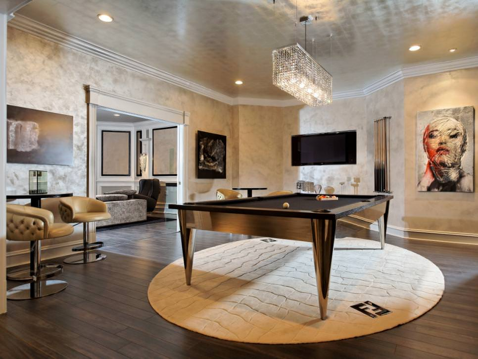 More than furniture, lighting or anything else, paint can make or break the design of the room. 23+ Game Room Designs, Decorating Ideas   Design Trends ...