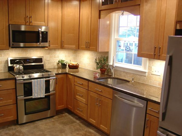 l shaped kitchen island with cabinets and design 21+ L-Shaped Kitchen Designs, Decorating Ideas | Design Trends