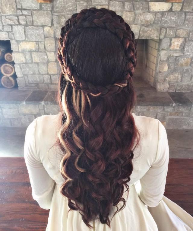 24+beautiful medieval hairstyles | design trends - premium
