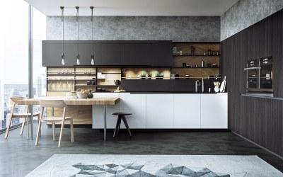 kitchen contemporary designs cool modern interior trends sleek premium decorating bar