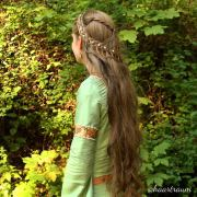 beautiful medieval hairstyles