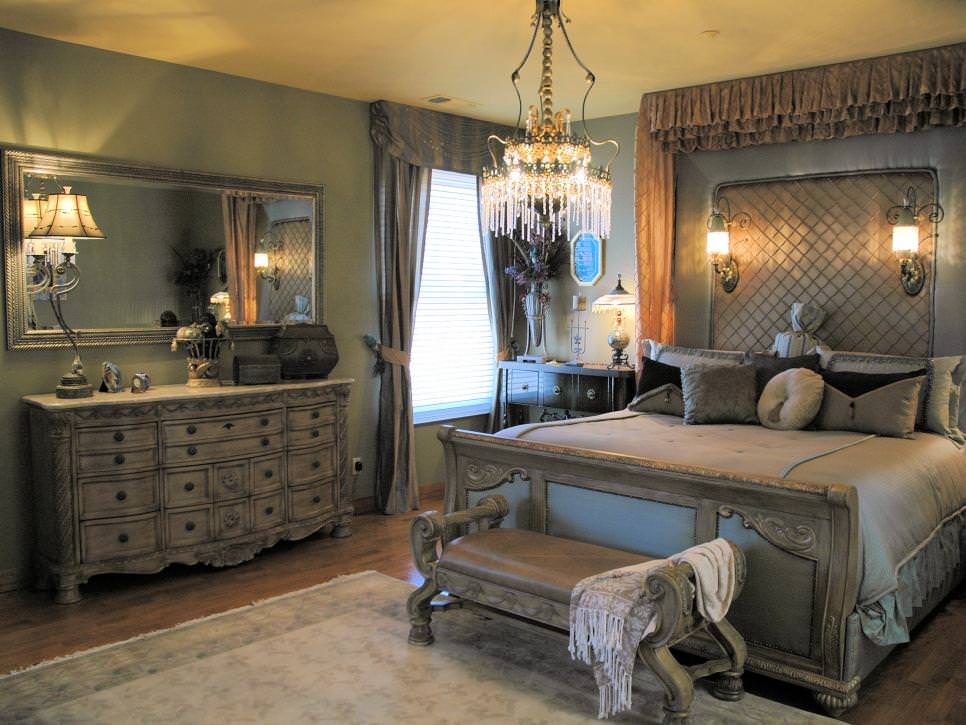 26+ Bedroom Chandeliers Designs, Decorating Ideas