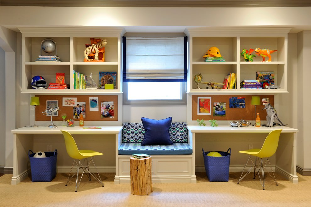 25 Kids Desk Designs Ideas Plans  Design Trends