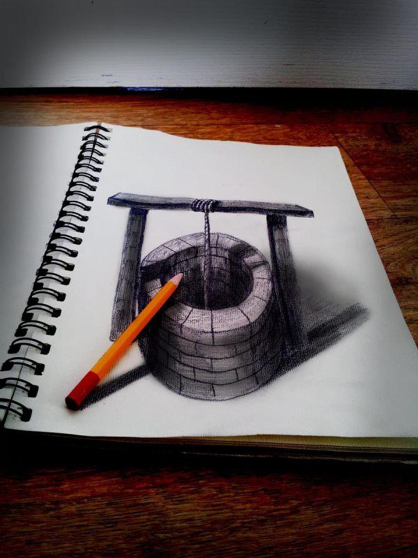 3d Pencil Drawings Art Ideas Design Trends
