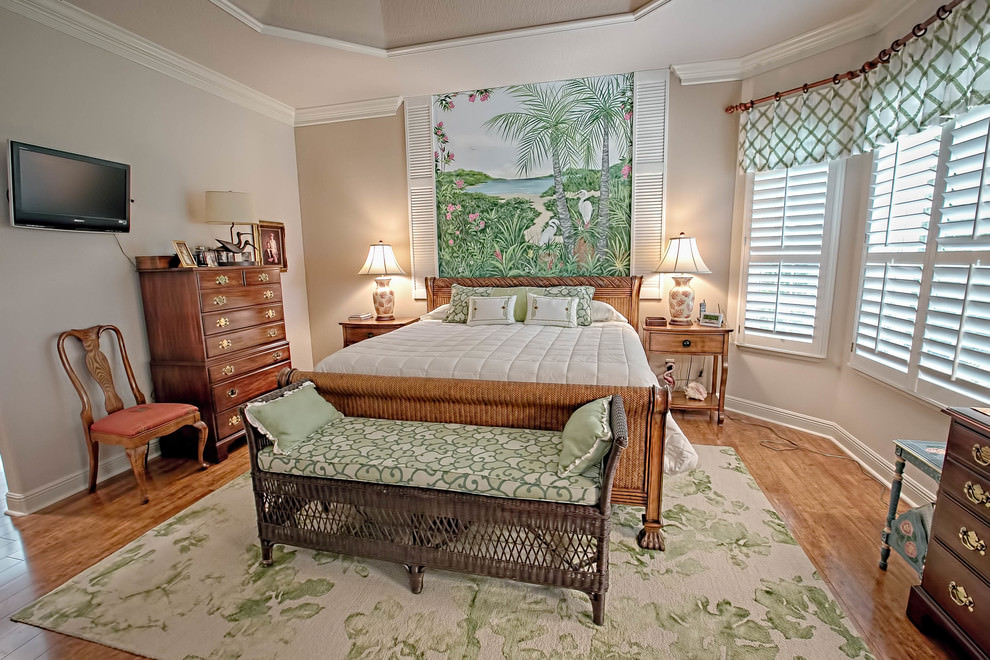 24 Tropical Bedroom Designs Decorating Ideas Design Trends Premium PSD Vector Downloads