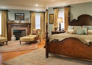 bedroom dark furniture wood royal designs interior
