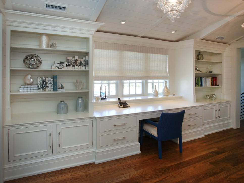 Home Office Shelving Designs