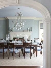 25+ Blue Dining Room Designs, Decorating Ideas | Design ...