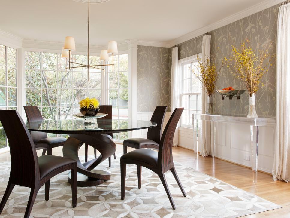 25 Grey Dining Room Designs Decorating Ideas Design