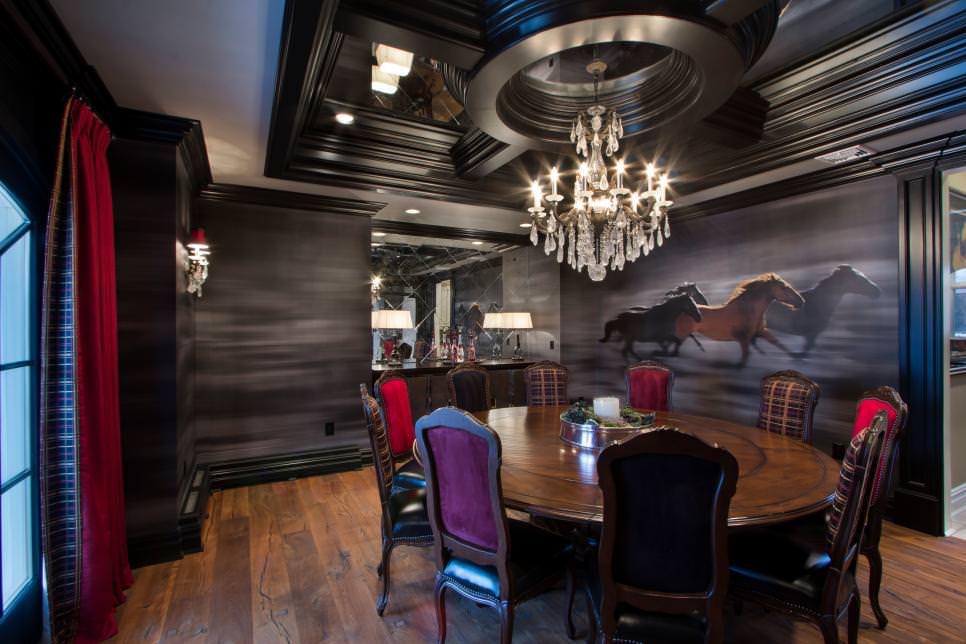 23+ Dining Room Wall Designs, Decor Ideas