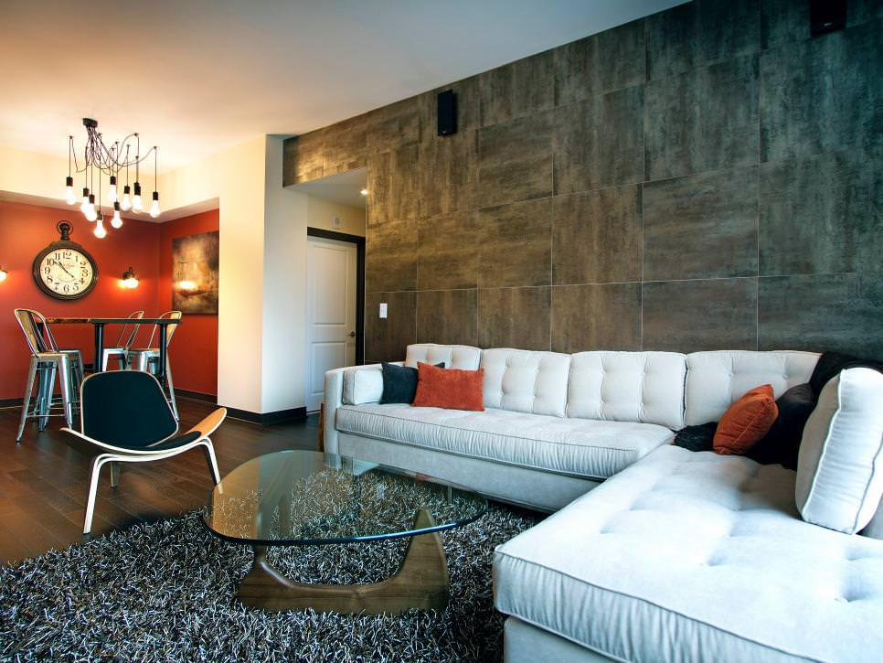 tiled living room open kitchen designs india 21 tile wall decorating ideas design trends contemporary with gray
