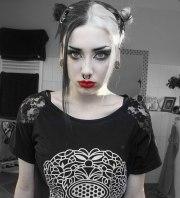 stylish gothic haircut ideas