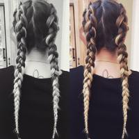 20+ Two Braids Hairstyle Ideas, Designs | Design Trends ...
