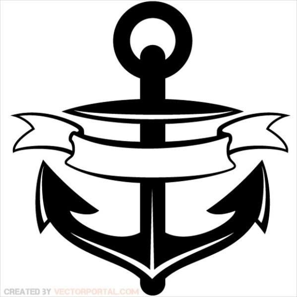 anchor vectors - ai eps svg
