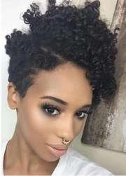 big chop hairstyle design
