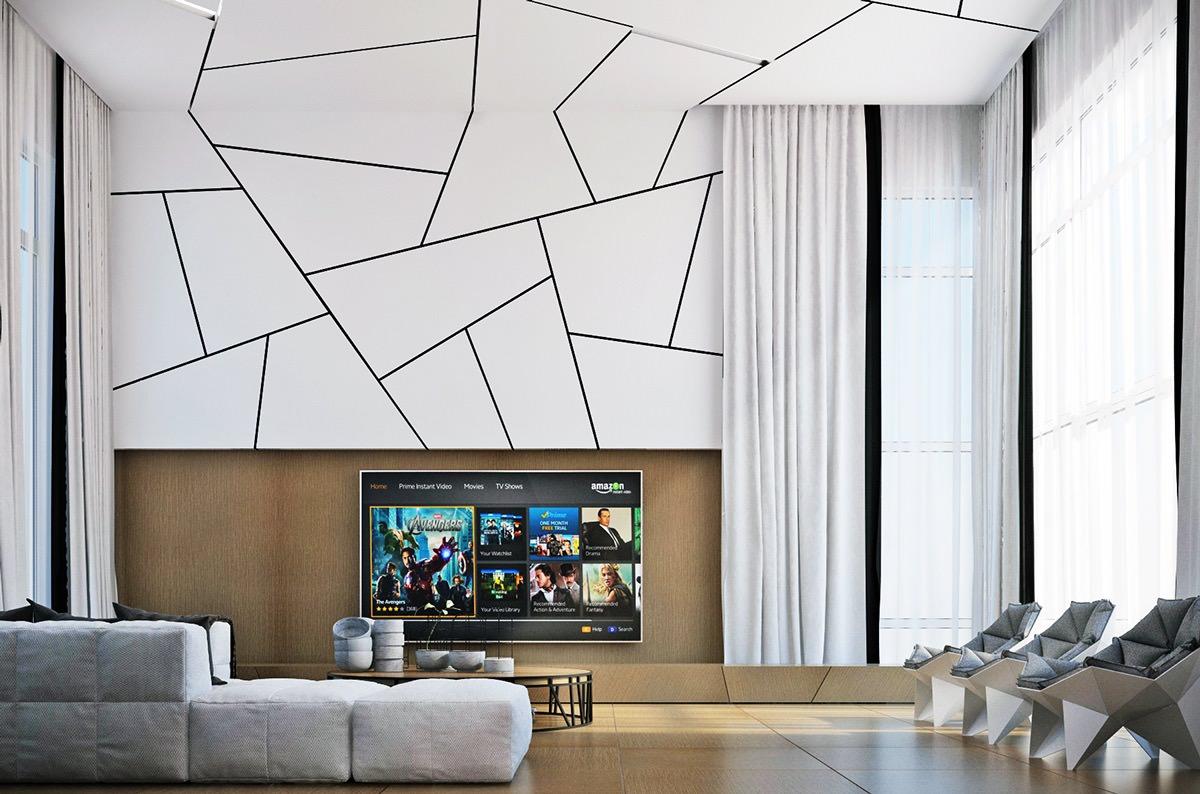 25+ Cool 3d Wall Designs, Decor Ideas