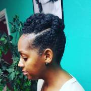 natural twist hairstyle design