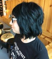 short shag hairstyle design