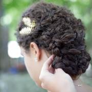 updos curly hair design ideas