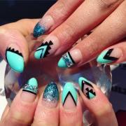 funky nail art design ideas